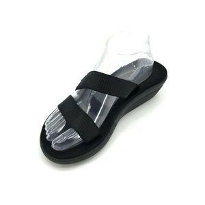 Teva Voya Loma Sandals Size 8 Livy Black 1093550